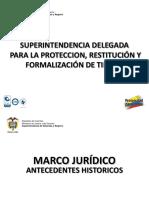 Marco Juridico Restitucion de Tierras