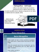 Ciclo Hidrológico e Bacia Hidrográfica