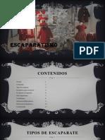 Escaparate de Temporada. Gabriela Chicaiza