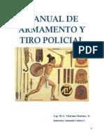Manual de Armamento y Tiro Policial