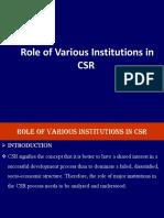 Csr Cl Lec 2 Institution