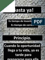 Basta Ya! IBE Callao 01-06-2010