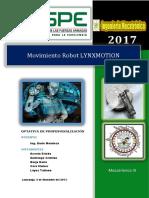 Informe Brazo Robotico
