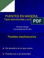 Puentes en Madera