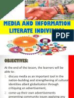 Media Literate Individual