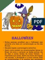 Halloween Históoria e Atividades
