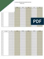 Matrix Jadwal Rencana Pelaksanaan Kegiatan