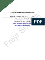 IEC 60870-5-104 Client / Master interoperability
