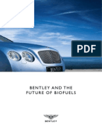 Bentley and the Future of Biofuels