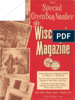 Special Green Bay Number the Wisconsin Magazine 1951