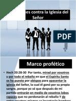 Conferencia Pastoral Barranca IBE Callao