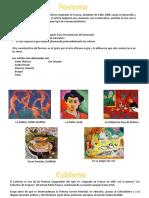 Fauvismo y Cubismo