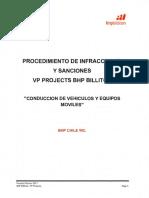 Procedimiento de Infracciones y Sanciones VP Projects_Rev6 Abril 2017