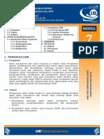 SKB - Modul 7 - Aspek Manajemen Dan SDM