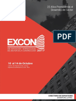 Excon2017 Catalogo Expositores