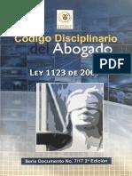 Cartilla Código Disciplinario Del Abogado