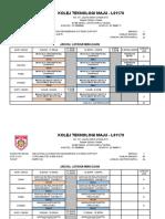 Jadual Latihan Meka L4 Noss 2016