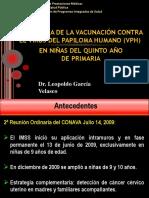 3.-Estrategia de Vacunación Vph
