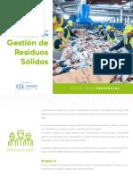 Brochure Residuos Sólidos Presencial