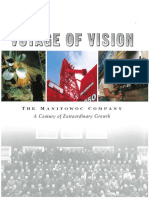 Voyage of Vision the Manitowoc Company