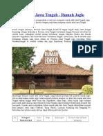 Rumah Adat Jawa Tengah.doc