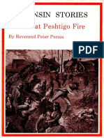 Wisconsin Stories the Great Peshtigo Fire