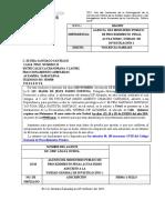 Oficios de Notificac Ion a Las Ofendidas Para Que Acudan Al Dif Nuc 1264-17