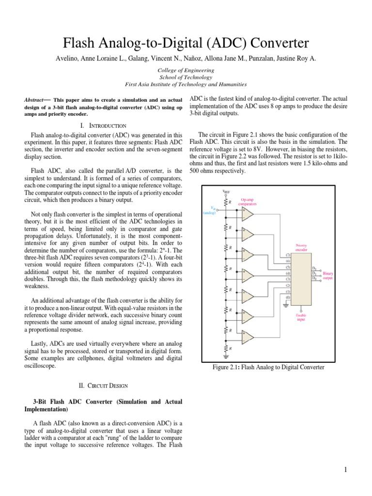 Digiele Adc Analog To Digital Converter Electronic Circuits Ad Circuit