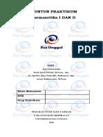 Panduan Praktikum Farmasetika 1 & 2