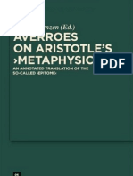 On Aristotle's Metaphysics
