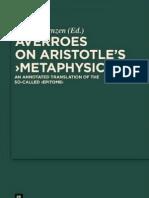 On Aristotle's Metaphysics
