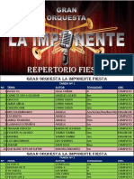 Repertorio Fiesta