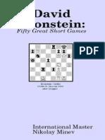 David Bronstein - Fifty Great Short Games.pdf