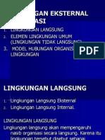 4_Lingkungan Eksternal Organisasi