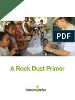 A Rock Dust Primer