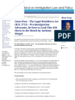 The Legal Workforce Act (H.R. 3711) – Pro