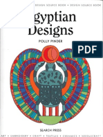 Egyptian Designs Coloring Book