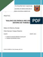 PRACTICA BALANCE DE MATERIA Y ENERGIA