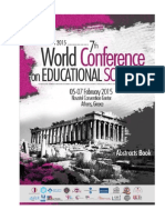 WCES 2015 Abstracts Book