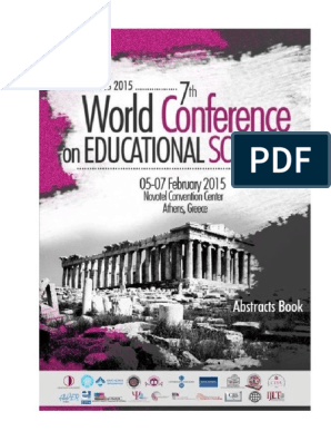 WCES 2015 Abstracts Book | Maize | Self Efficacy