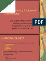 Cruz Historia Clinica y Exploracic3b3n Oftalmologica Para Medicos