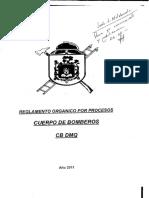 CB-DMQ Reglamento Orgánico Por Procesos