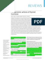 Efectos No Genéticos de La T3 y T4