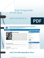 Aplikasi Online PP-PTS 2018