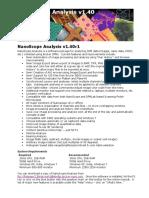 Nanoscope Analysis v140r1 Download Instructions