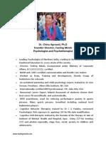Dr. Chinu Agrawal (Profile)