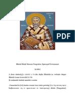 Sfântul Sfințit Mucenic Pangratios