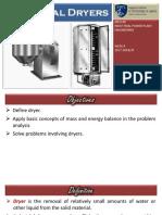 Industrial Dryer presentation
