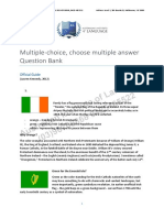 Multiple Choice. Choose Multiple Answers Question Bank