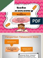 Taksonomi Solo